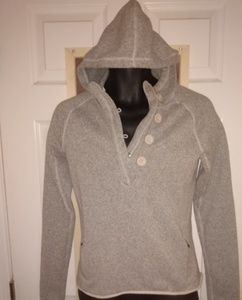 Women's Gray The North Face Hoodie Size Medium